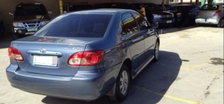 Toyota Corolla 2003 - 4