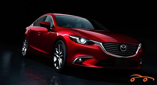 Mazda 6 2015 - 2