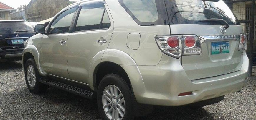 Toyota Fortuner 2012 - 14