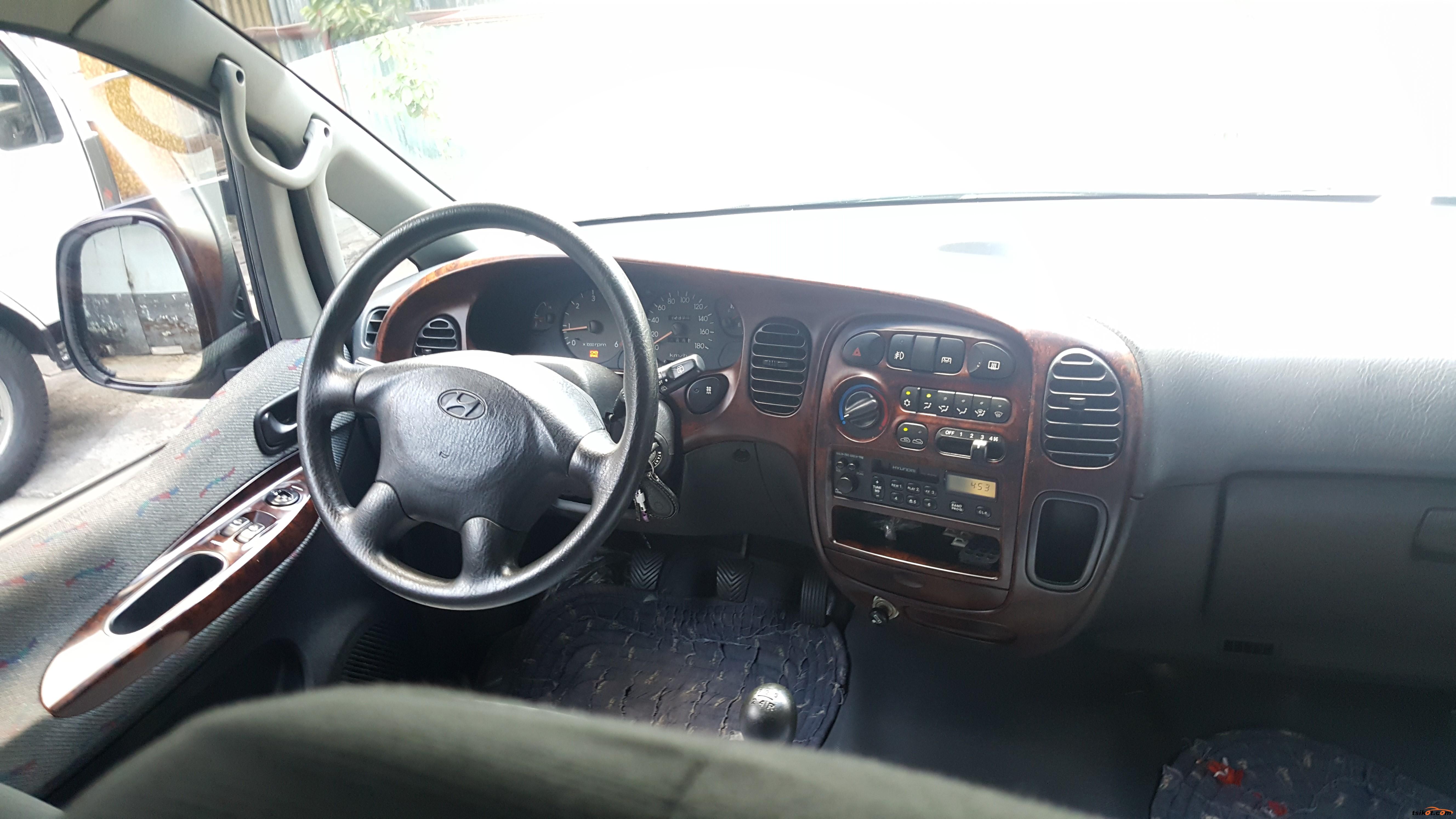 Hyundai Starex 1988 - 9