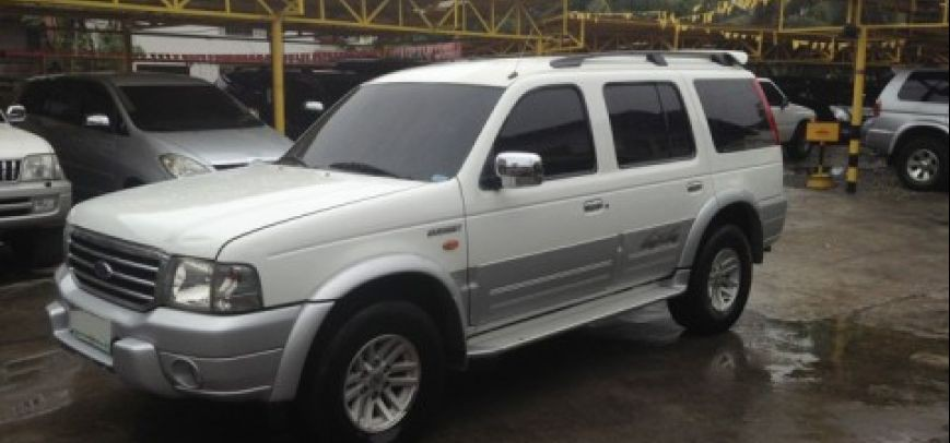 Ford Everest 2005 - 8