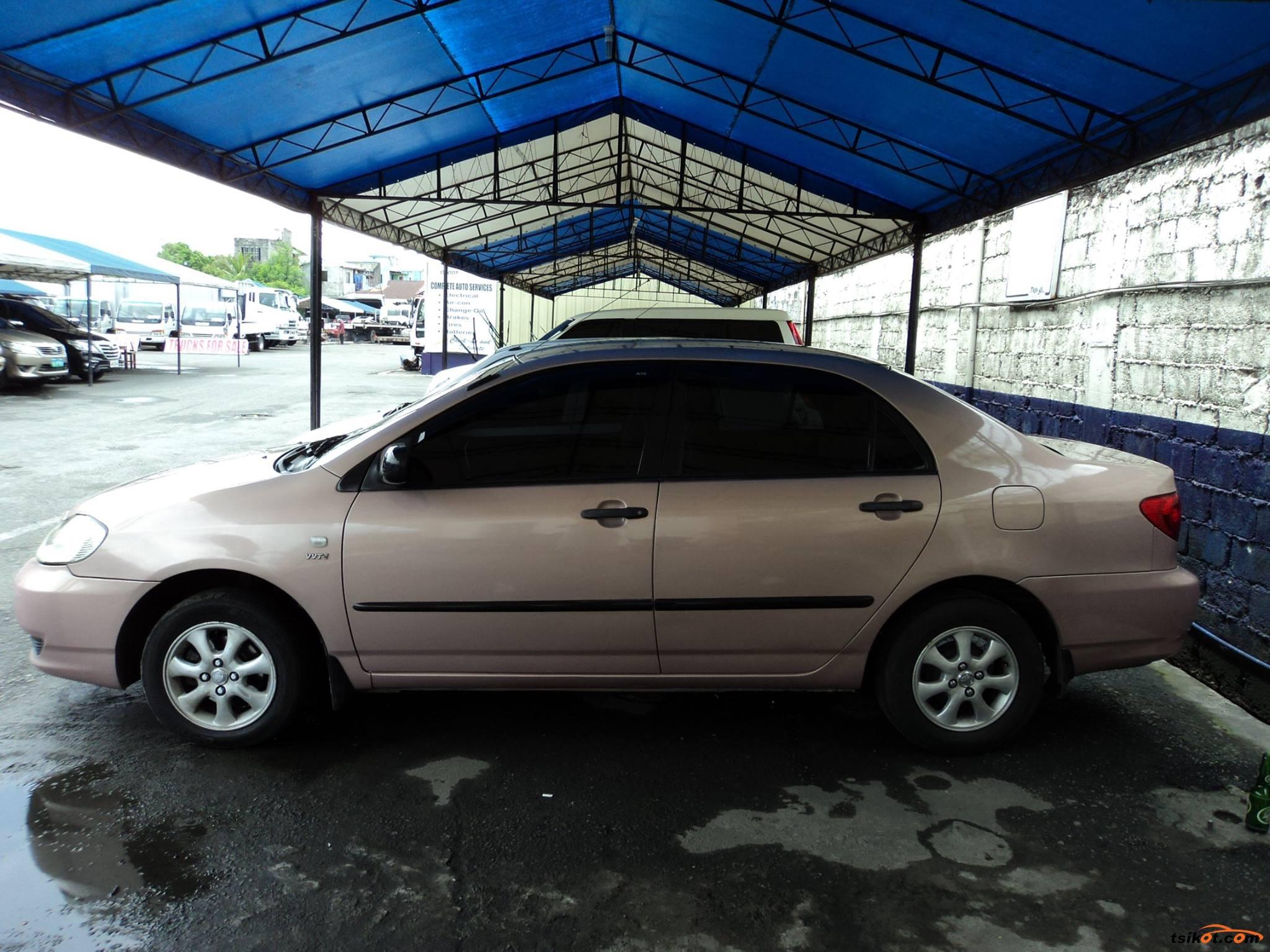 Toyota Corolla 2002 - 10