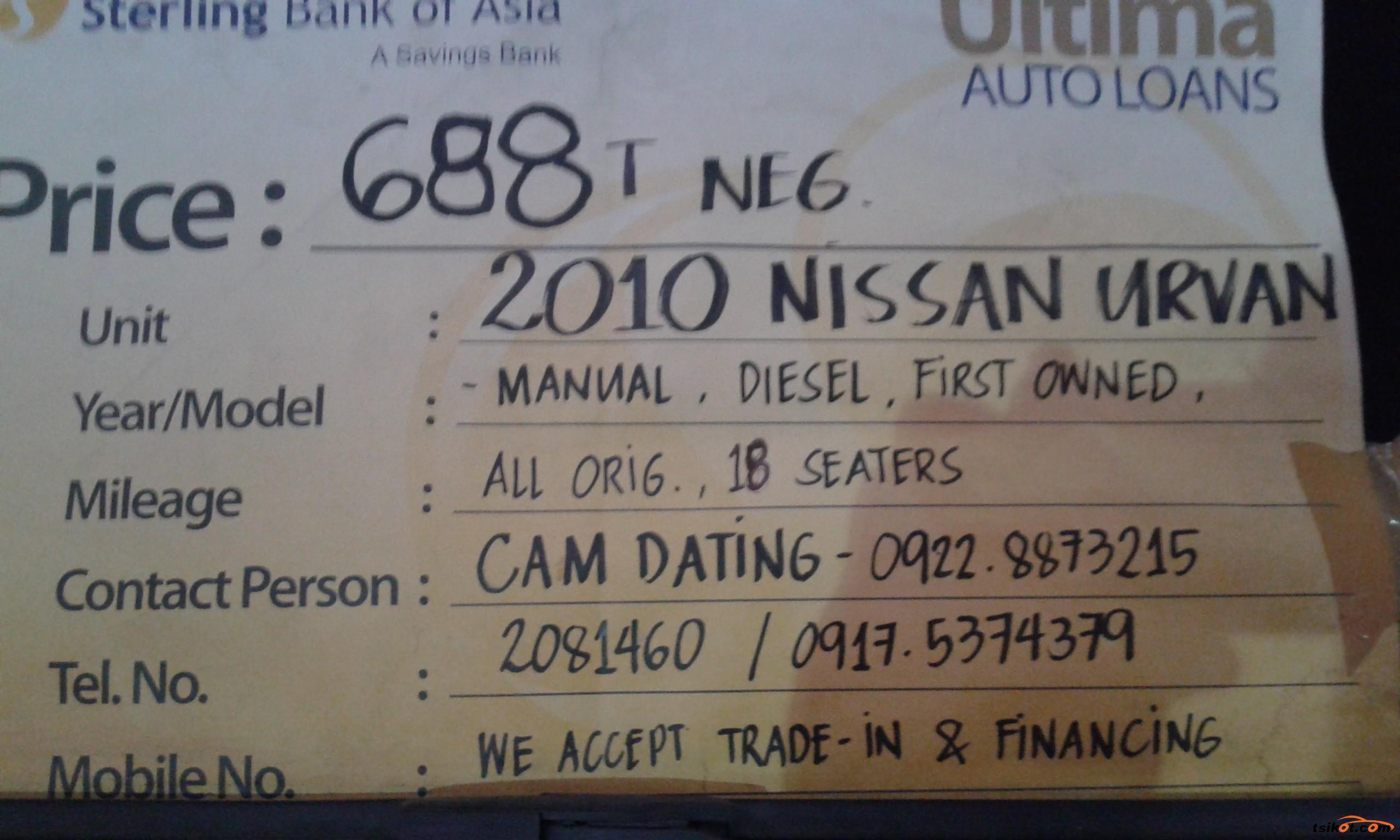 Nissan Urvan 2010 - 6