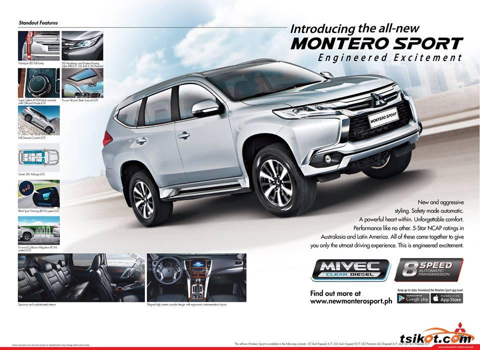 Mitsubishi Montero 2016 - 5