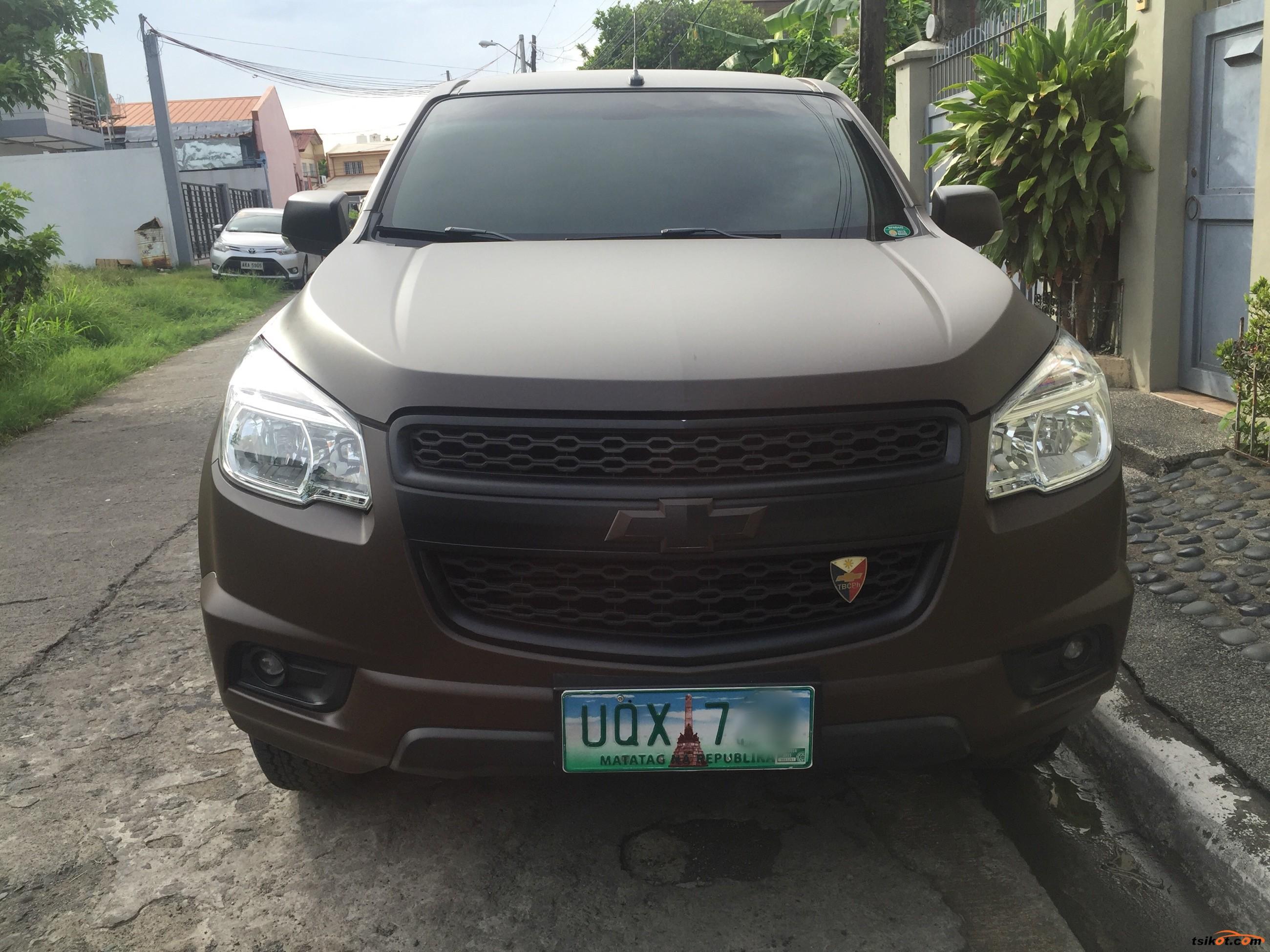 Chevrolet Trailblazer 2012 - 2