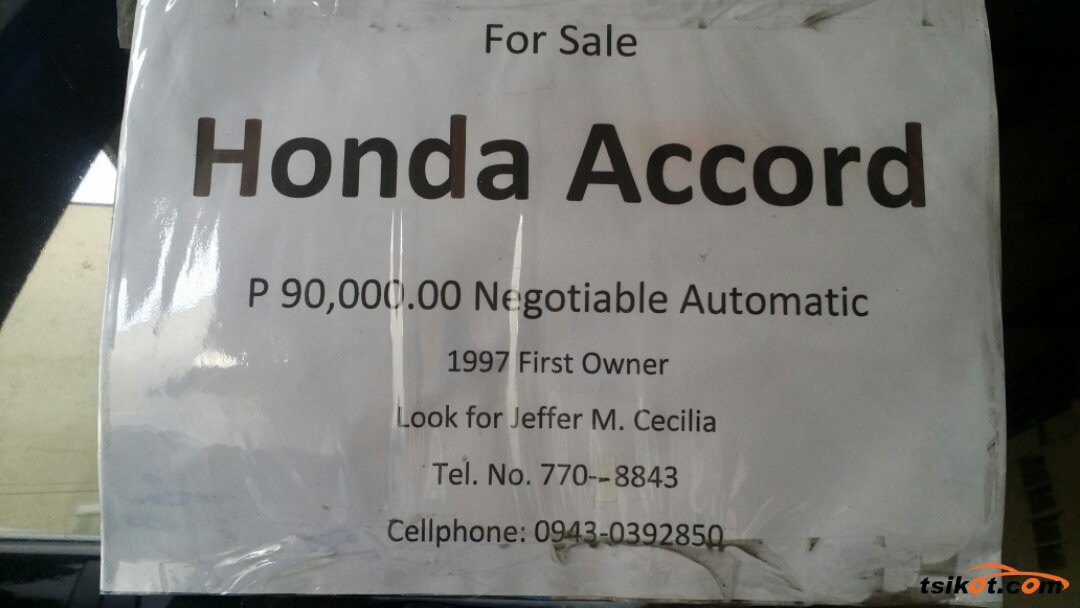 Honda Accord 1997 - 3