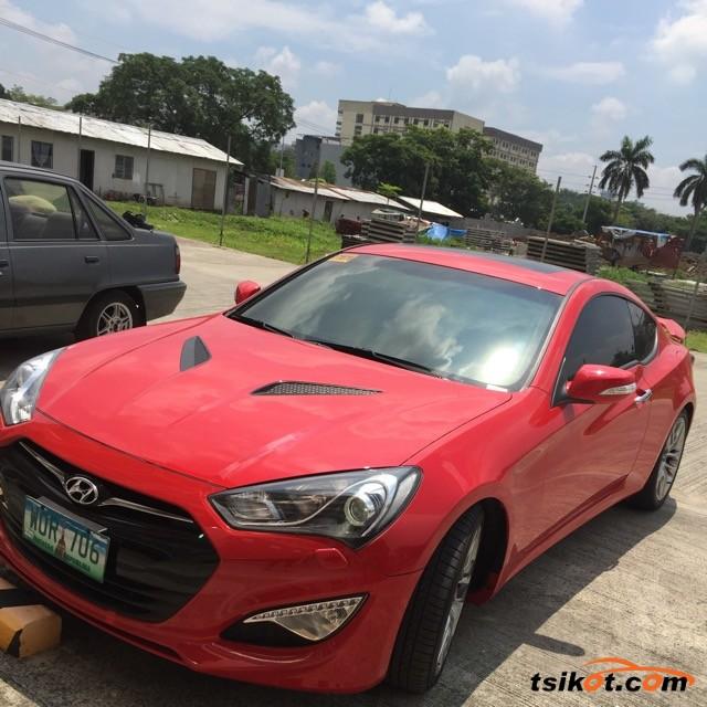 Hyundai Coupe 2013 - 2