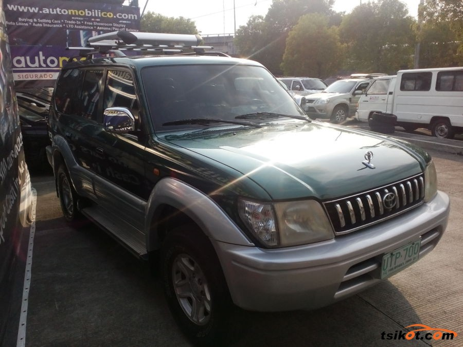 Toyota Land Cruiser 1997 - 2