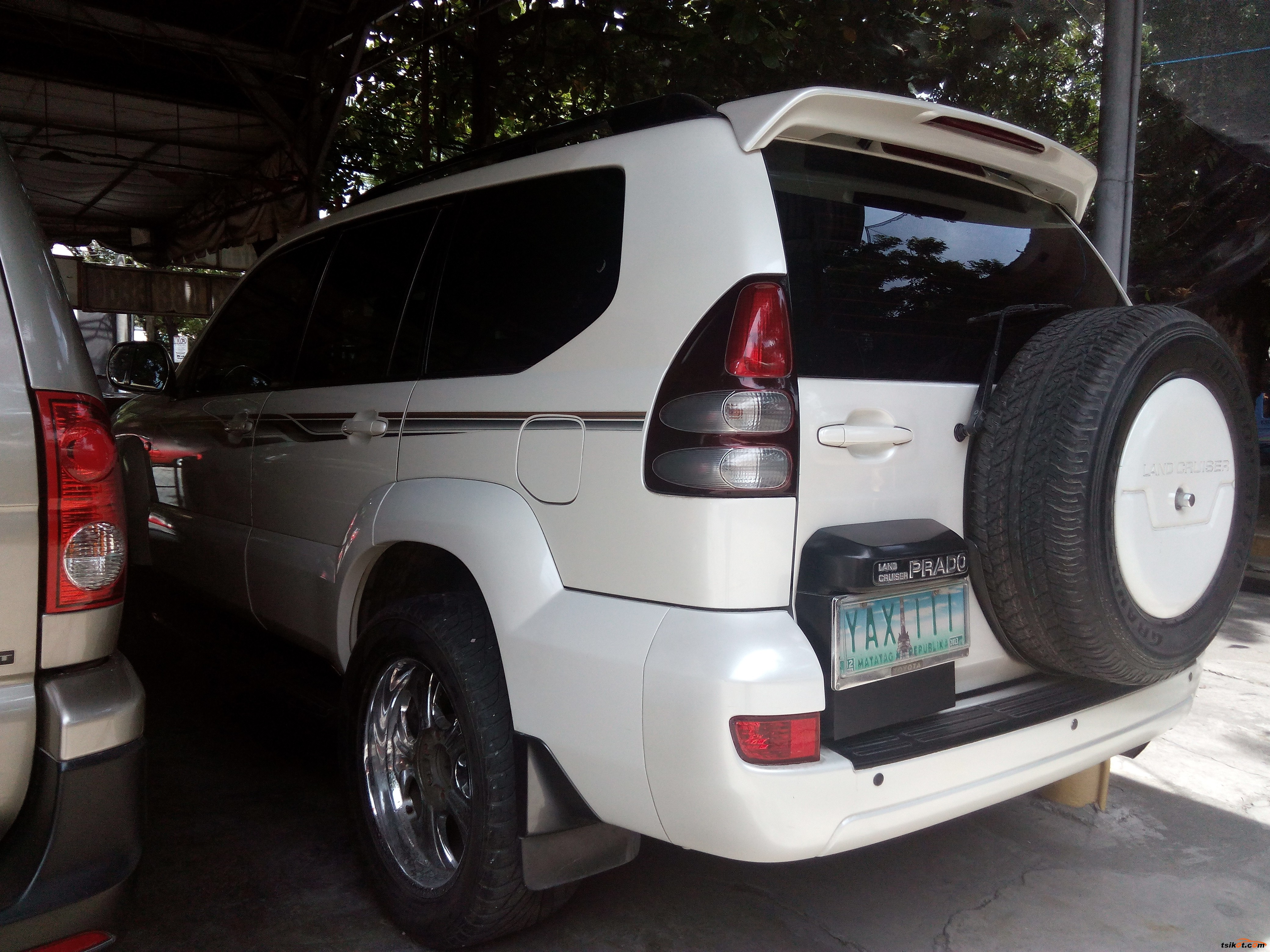 Toyota Land Cruiser 2004 - 4