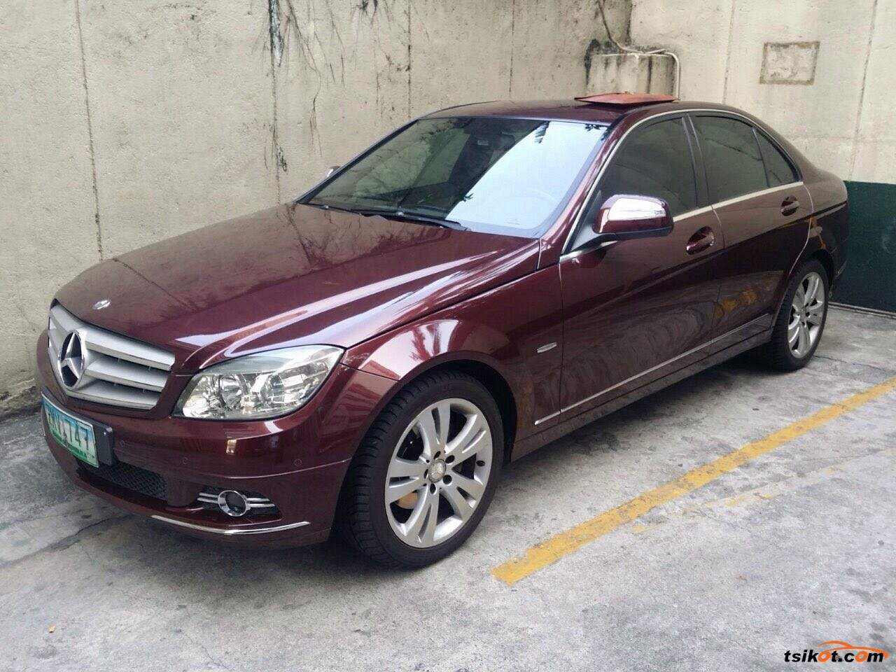 mercedes benz c class 2008 car for sale metro manila philippines. Black Bedroom Furniture Sets. Home Design Ideas
