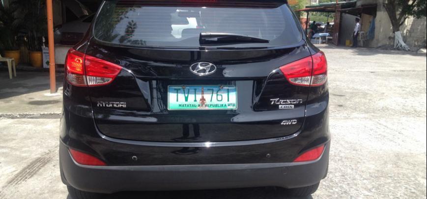 Hyundai Tucson 2011 - 12