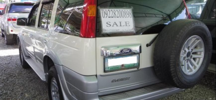 Ford Everest 2004 - 12