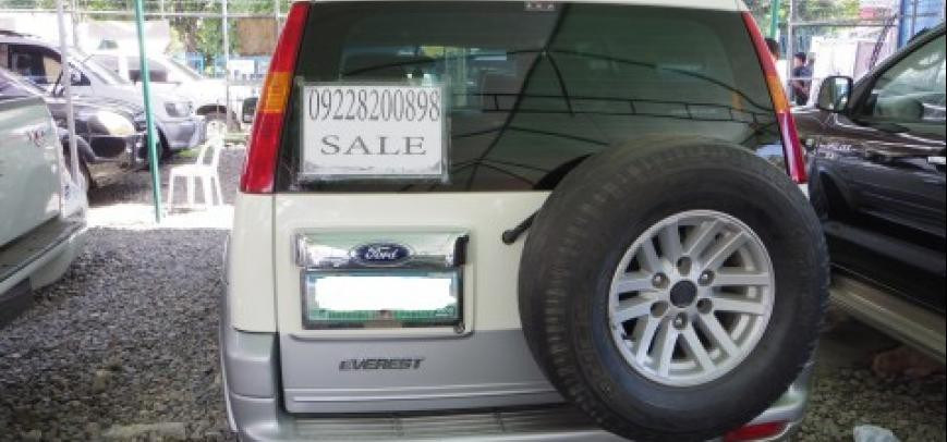 Ford Everest 2004 - 5