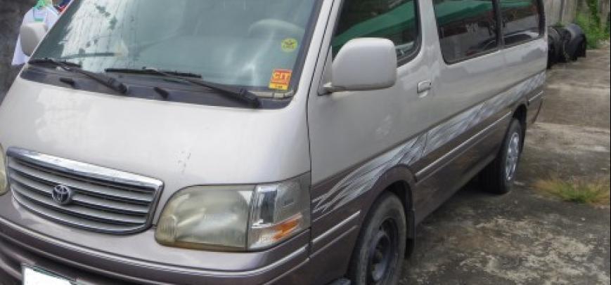 Toyota Hi-Ace 2000 - 1