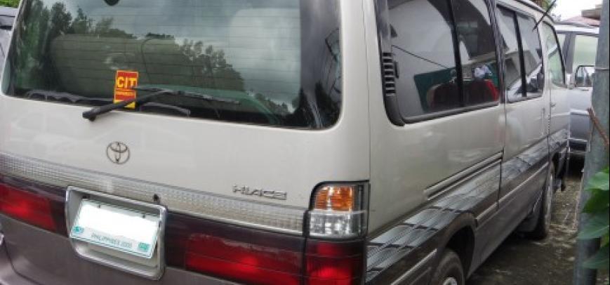 Toyota Hi-Ace 2000 - 3