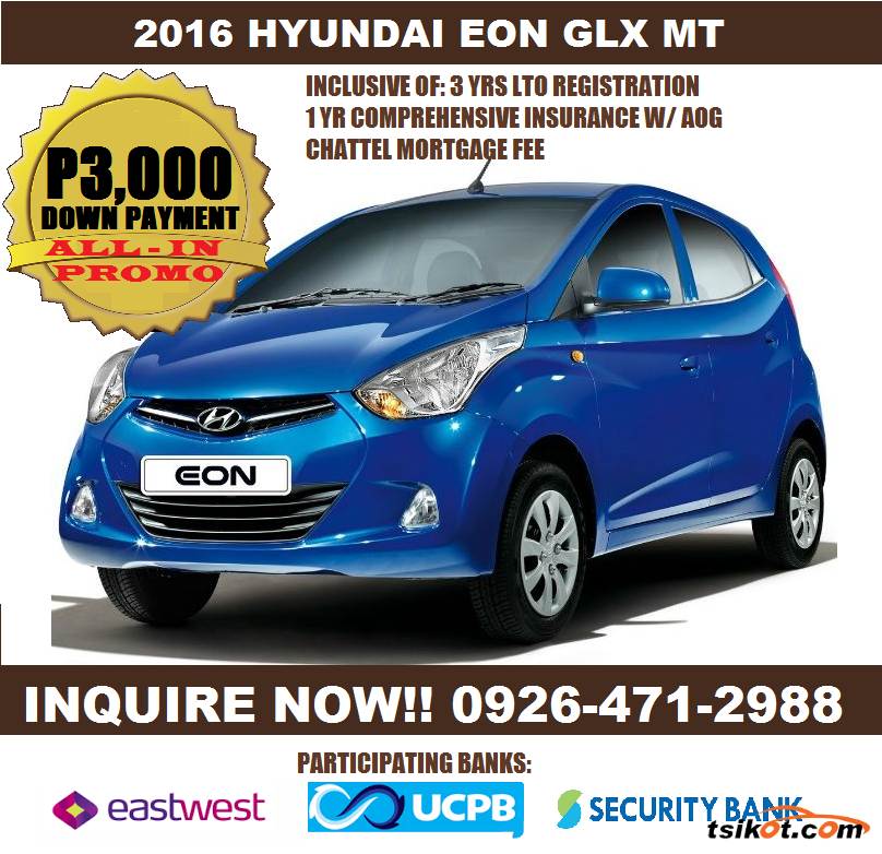 Hyundai eon 2016 car for sale metro manila for Hyundai motor finance payoff