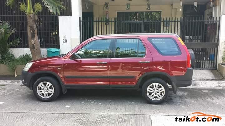 Honda Cr-V 2002 - 2