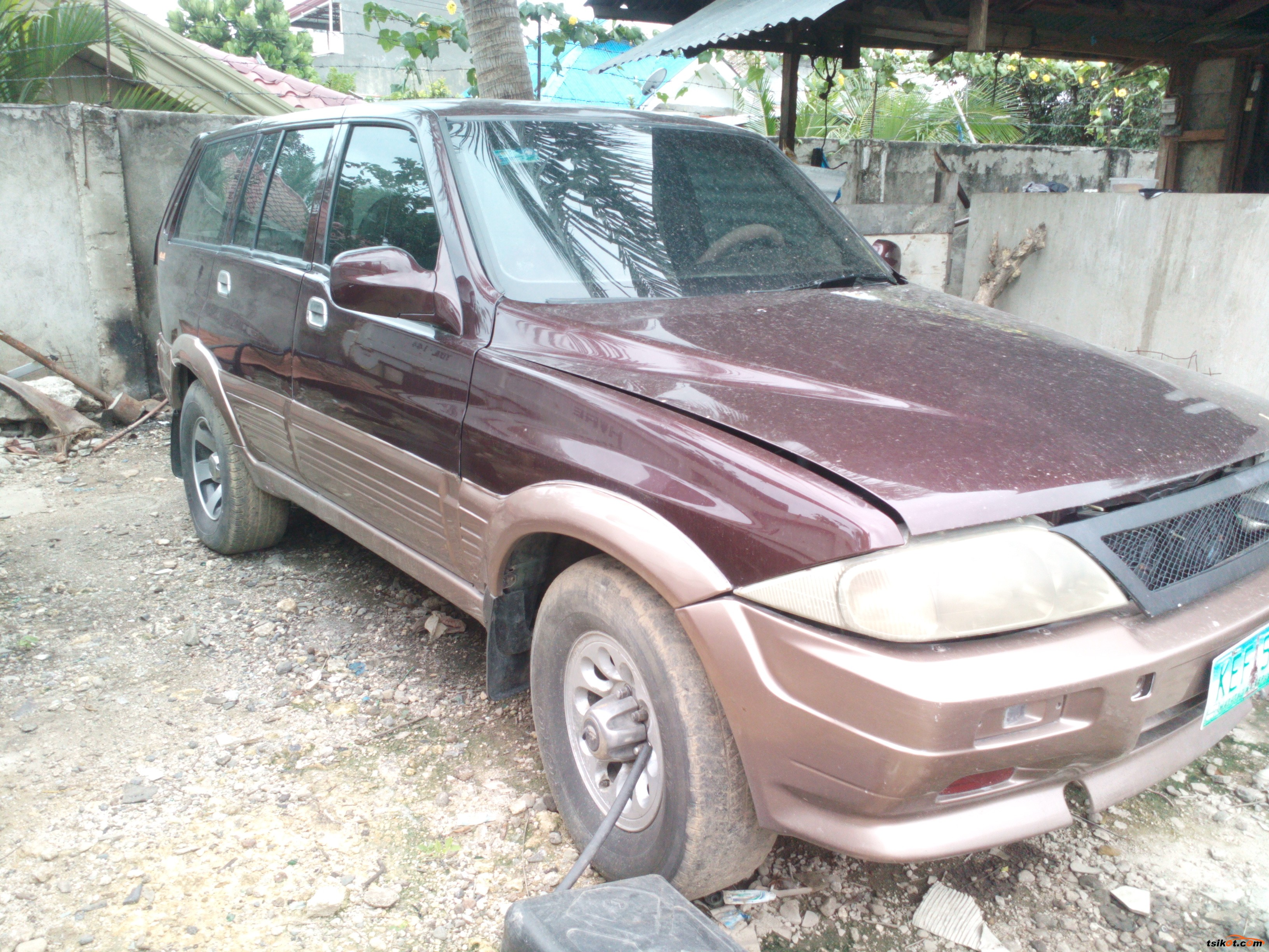 Ssangyong Musso 1999 - 3