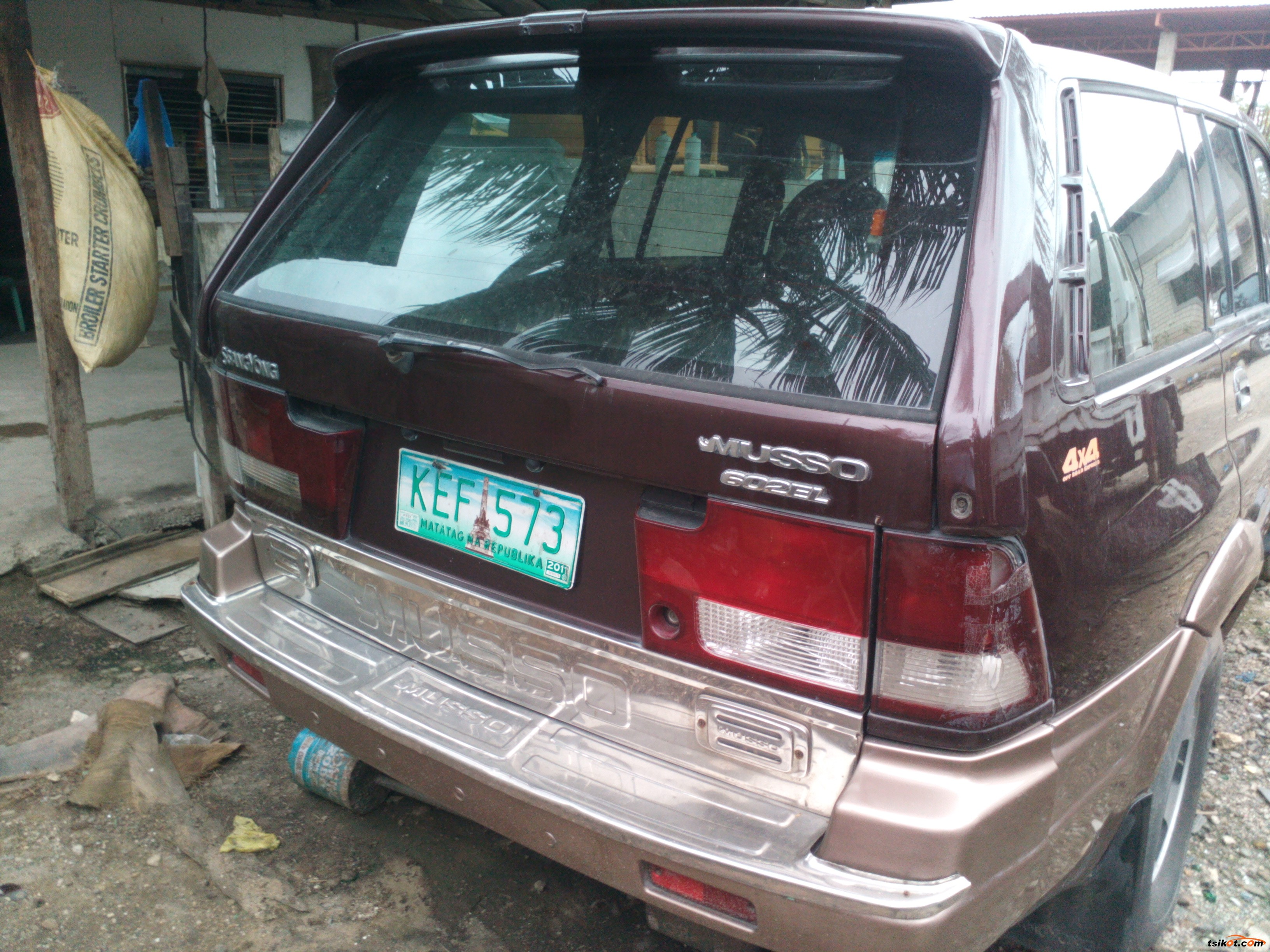Ssangyong Musso 1999 - 4