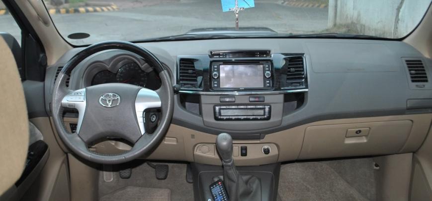 Toyota Fortuner 2013 - 14