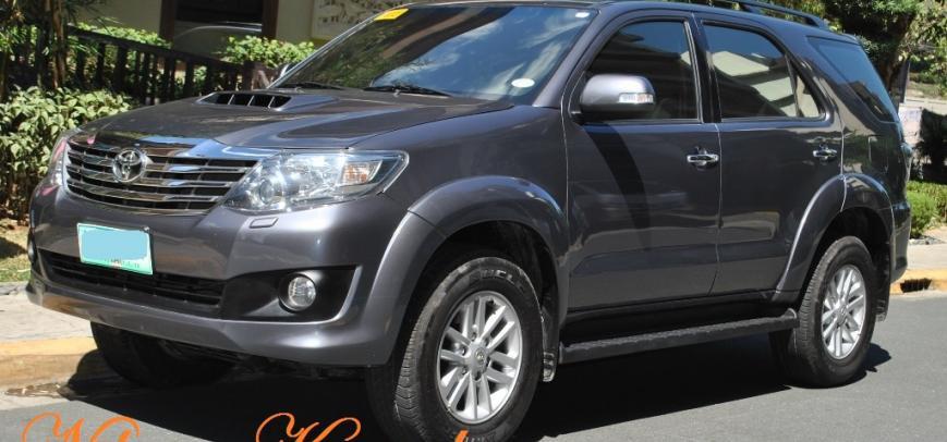 Toyota Fortuner 2013 - 16