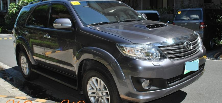 Toyota Fortuner 2013 - 19