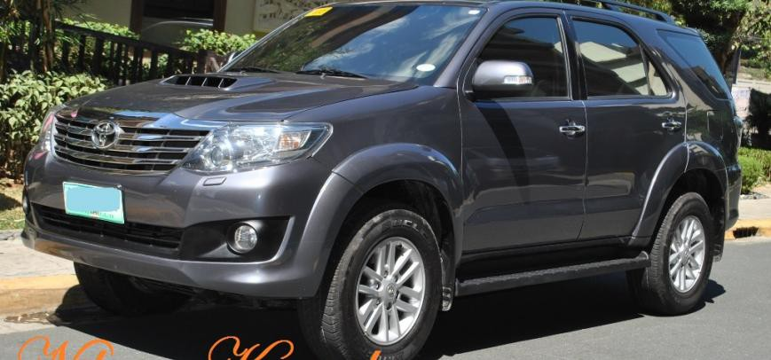Toyota Fortuner 2013 - 8