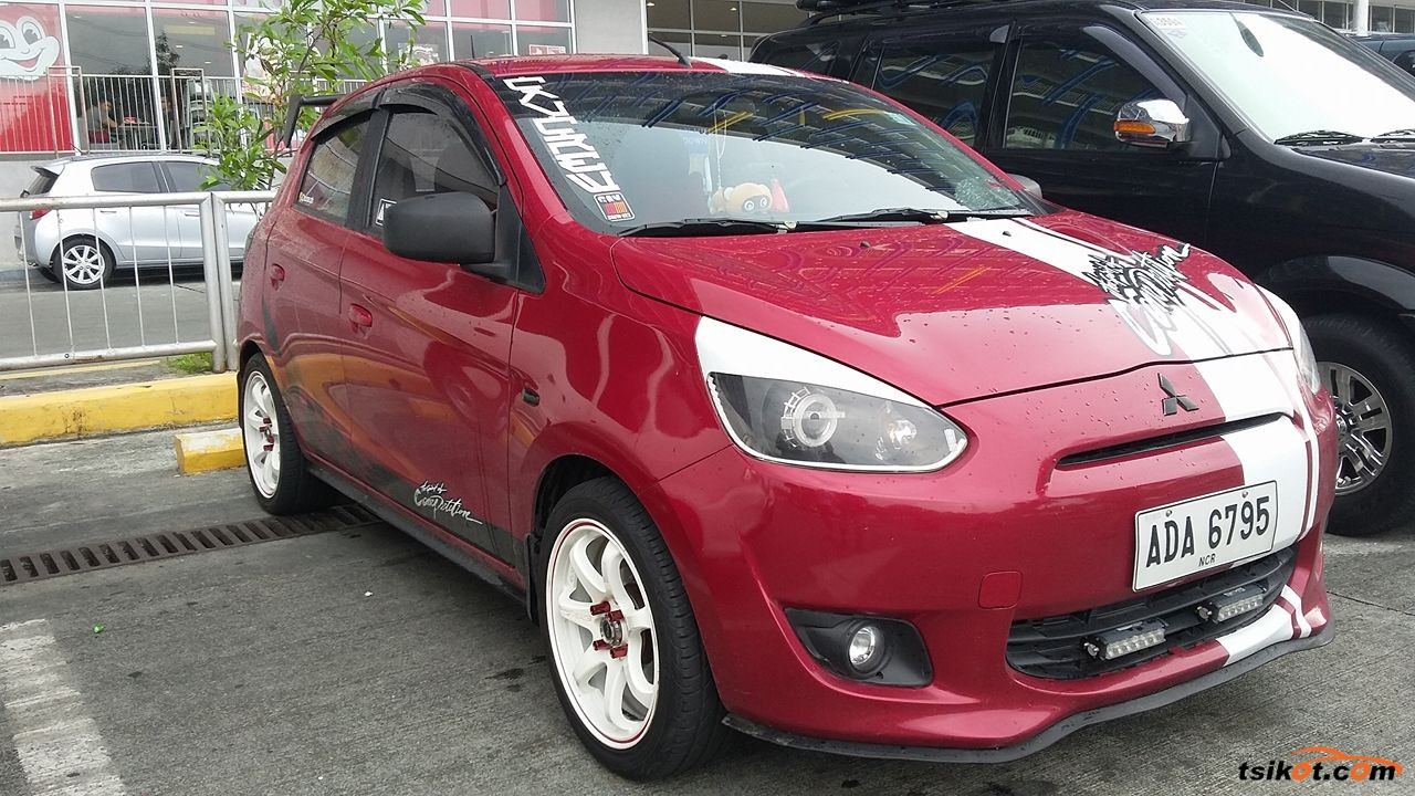 Mitsubishi Mirage 2014 - Car for Sale Calabarzon