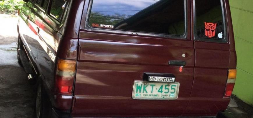 Toyota Fxs 2001 - 1