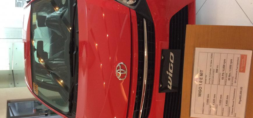 Toyota Wigo 2015 - 8
