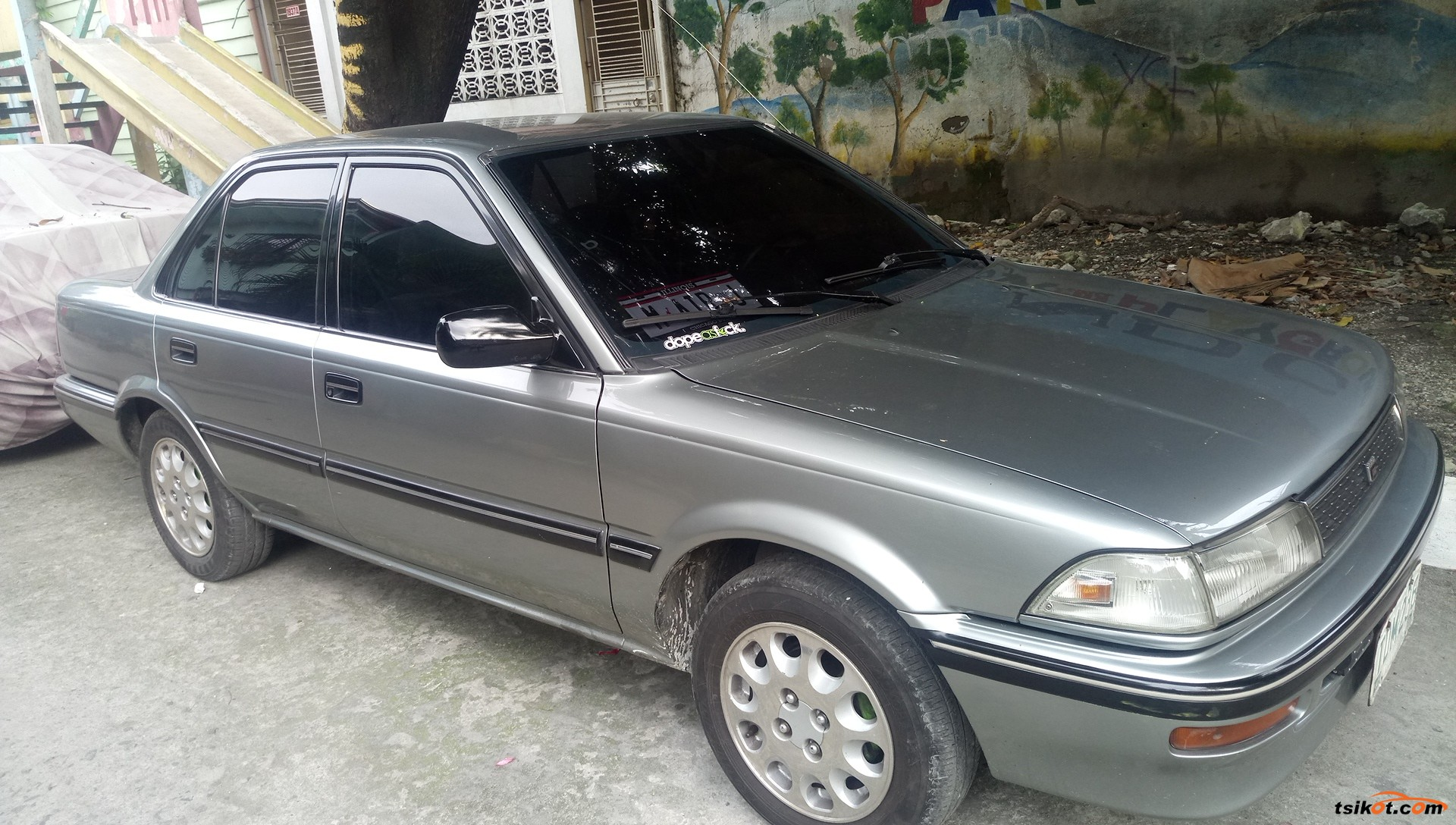 toyota corolla 1992 car for sale metro manila. Black Bedroom Furniture Sets. Home Design Ideas