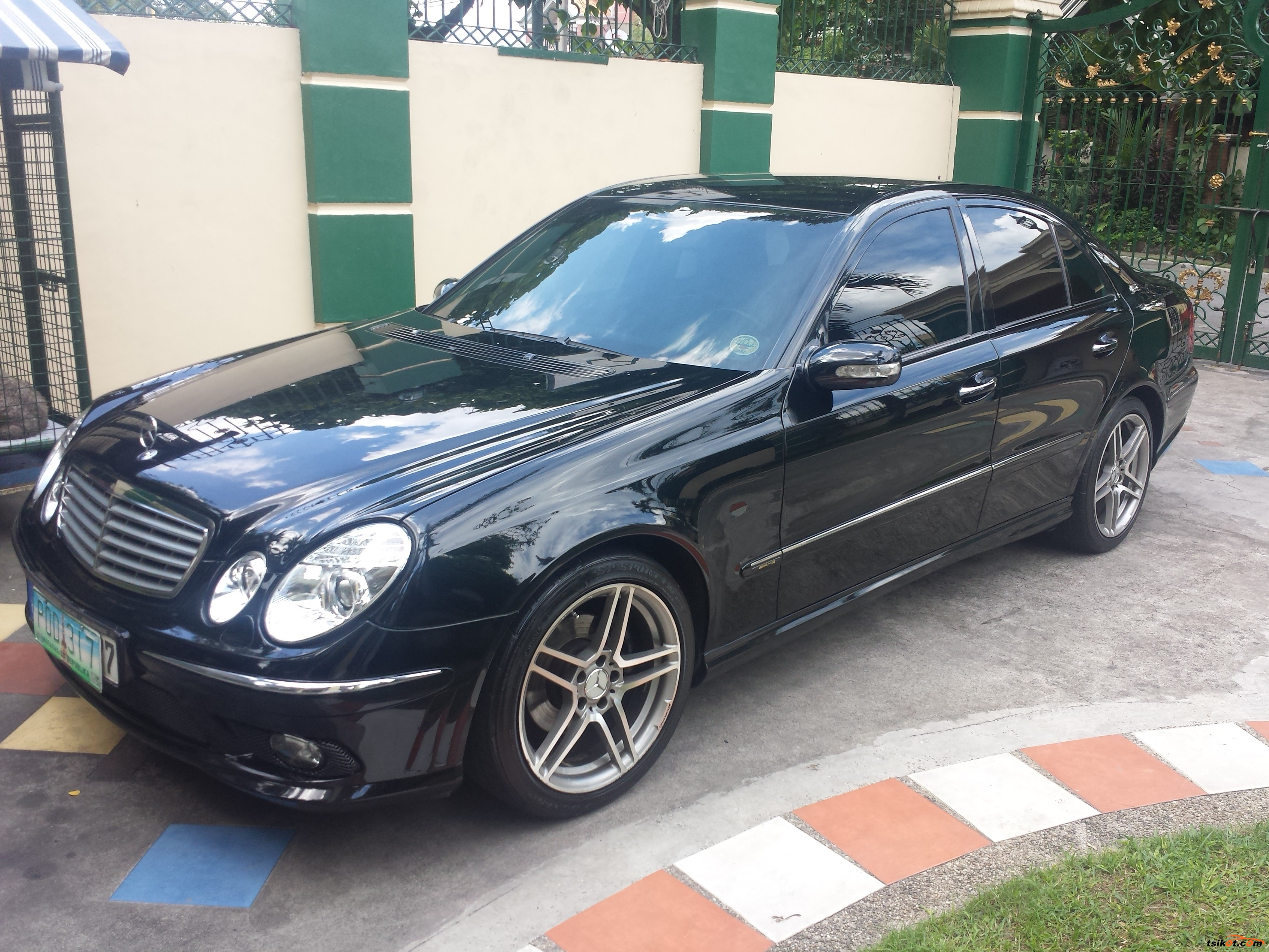 Mercedes benz e class 2003 car for sale metro manila for Mercedes benz g class used 2003