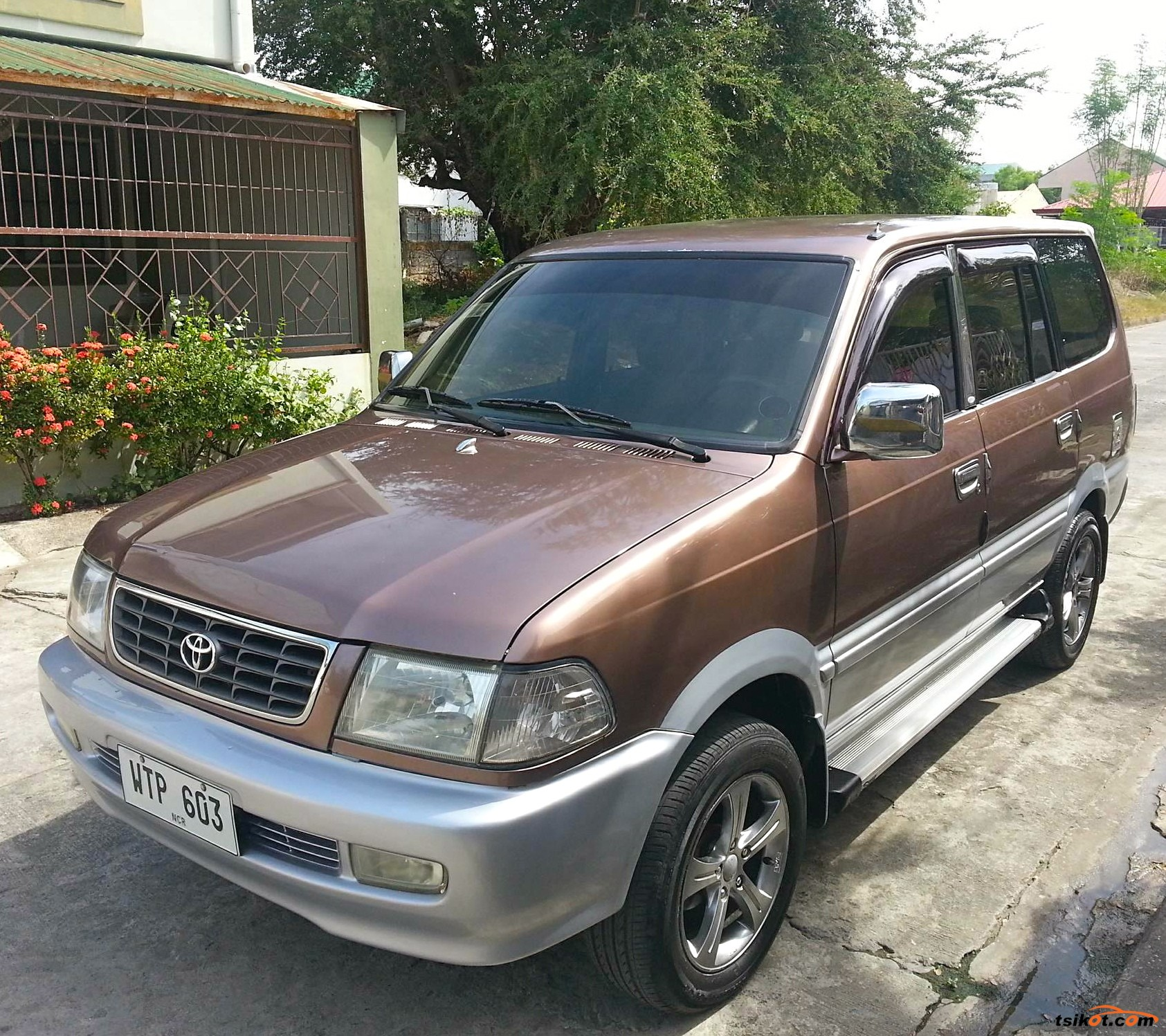 TOYOTA REVO FOR SALE! -Toyota Revo GLX -Year Model: 2001 -Diesel -Color: Mojave Brown/Brownish Gray Metallic -All Power -Cool A/C -2L Engine -Clean & Intact Interior -Fresh In and Out -Almost New Tires -16