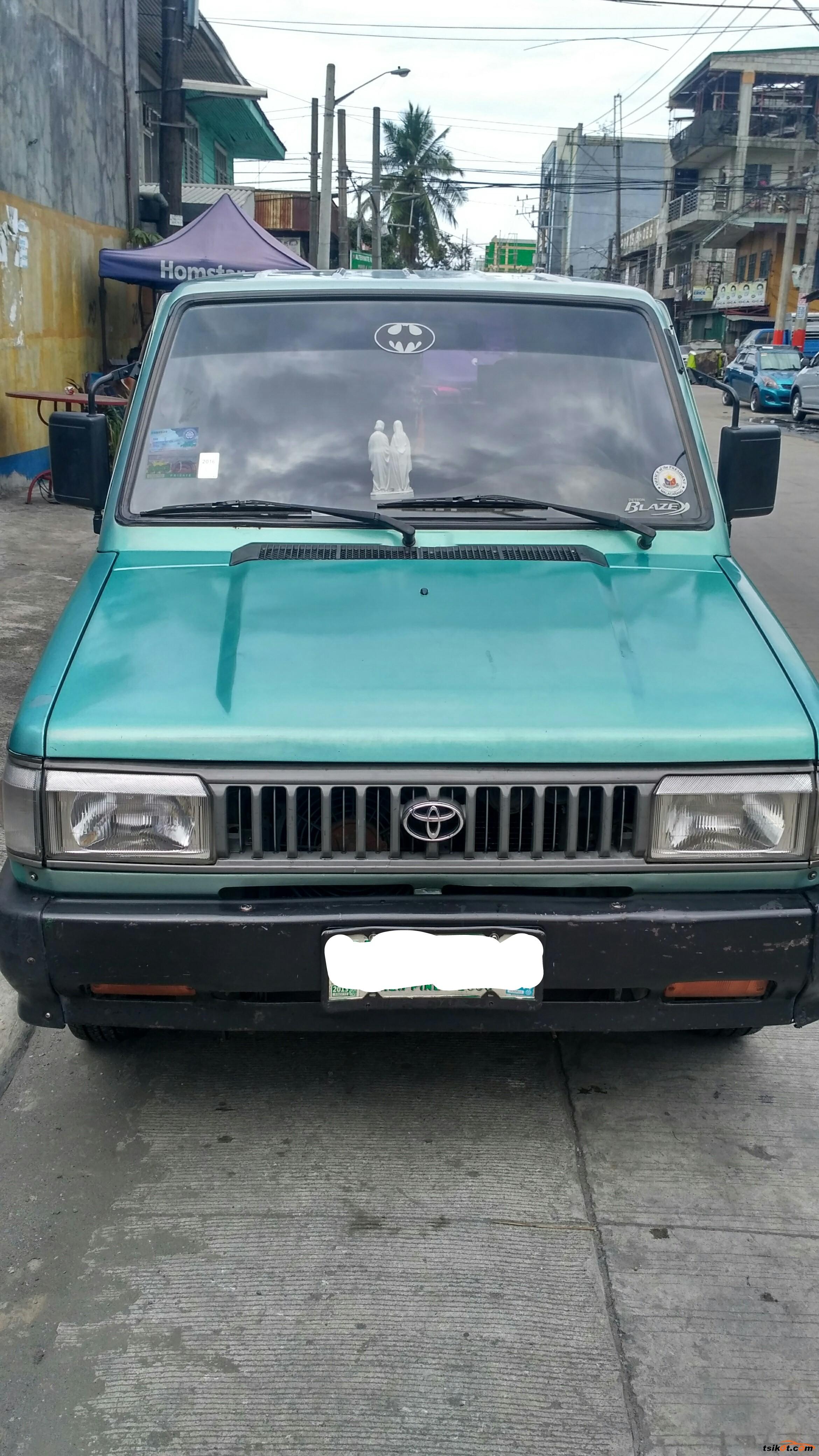 Toyota Fxs 1996 - 4