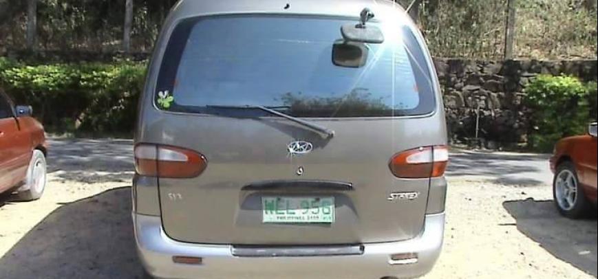 Hyundai Starex 1998 - 8