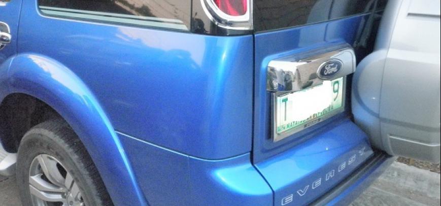 Ford Everest 2012 - 13