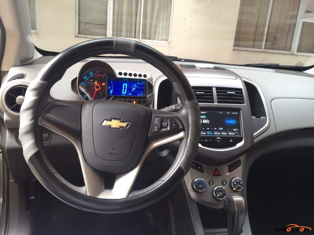 Chevrolet Sonic 2014 - 5