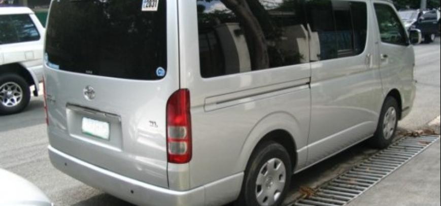 Toyota Hi-Ace 2007 - 6