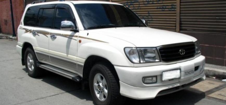 Toyota Land Cruiser 2003 - 4