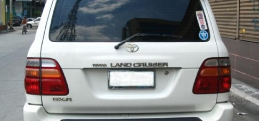 Toyota Land Cruiser 2003 - 8