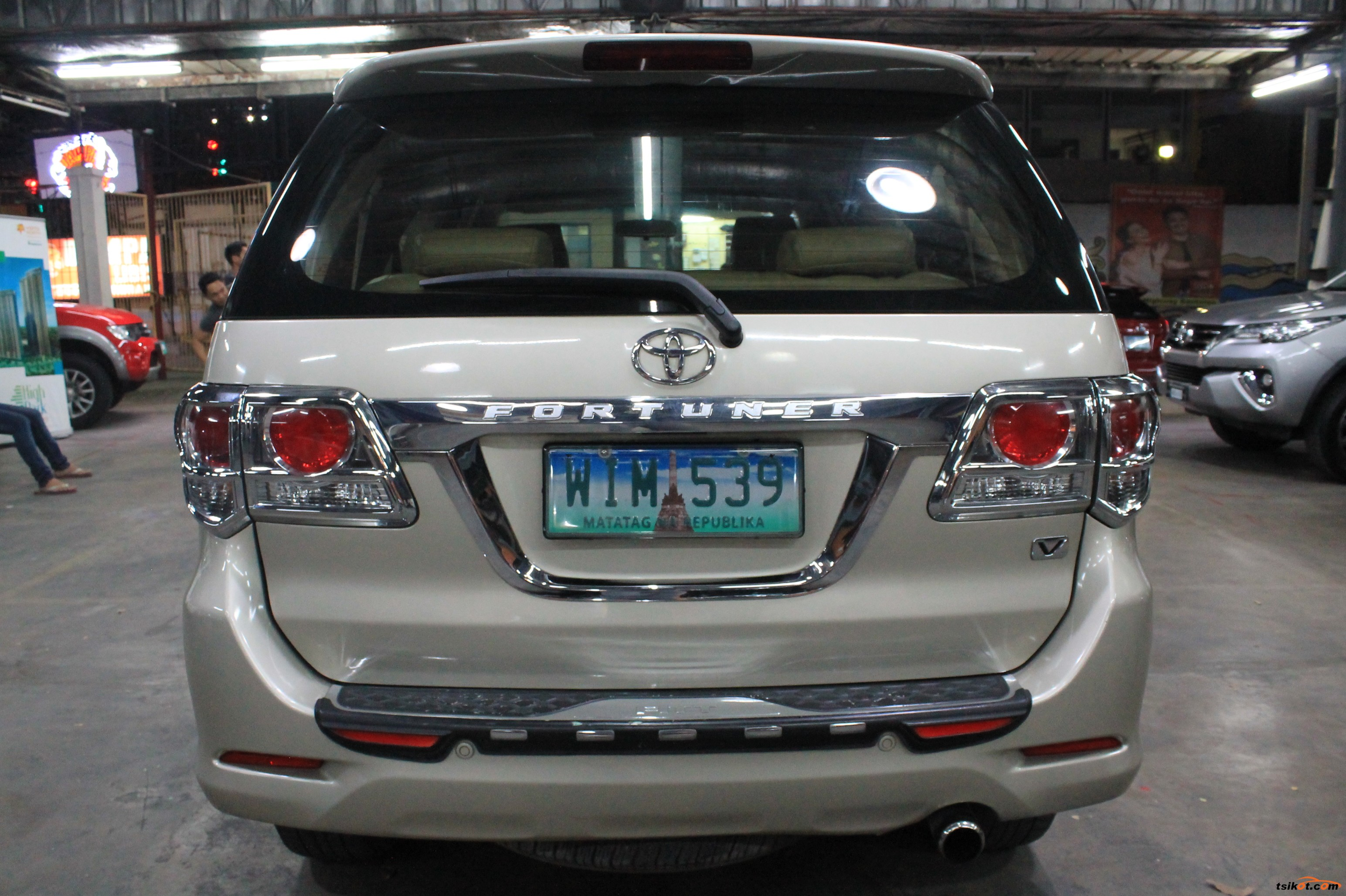 Toyota Fortuner 2014 Car For Sale Metro Manila Philippines