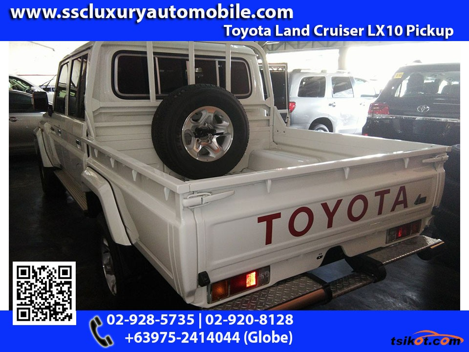 Toyota Land Cruiser 2017 - 2