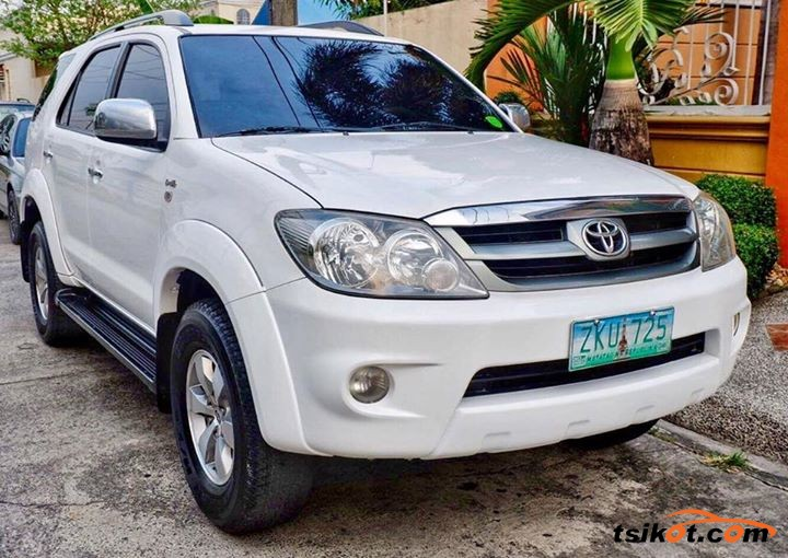 Toyota Fortuner 2007 Car For Sale Metro Manila Philippines