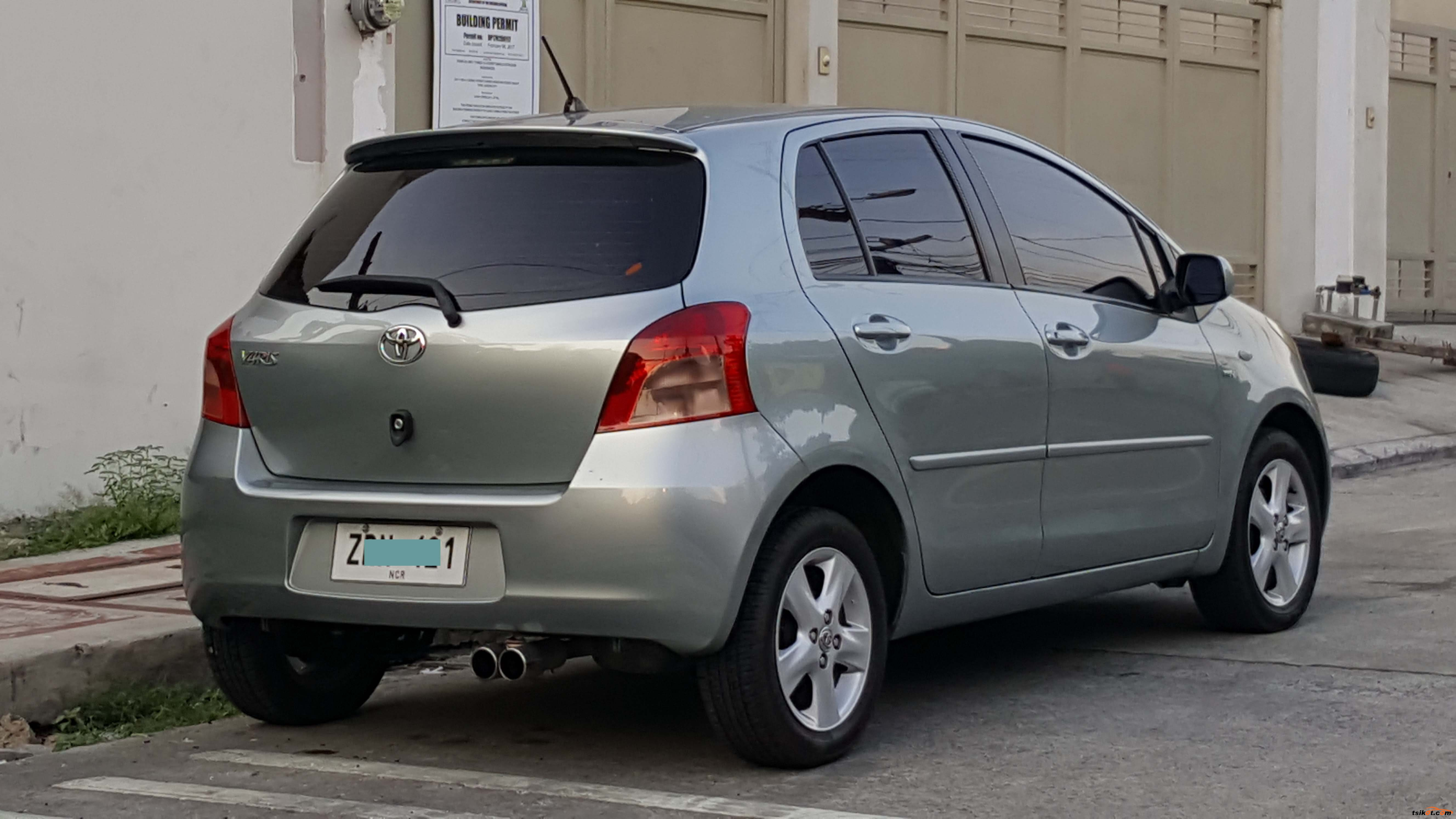 toyota yaris 2008 car for sale metro manila. Black Bedroom Furniture Sets. Home Design Ideas
