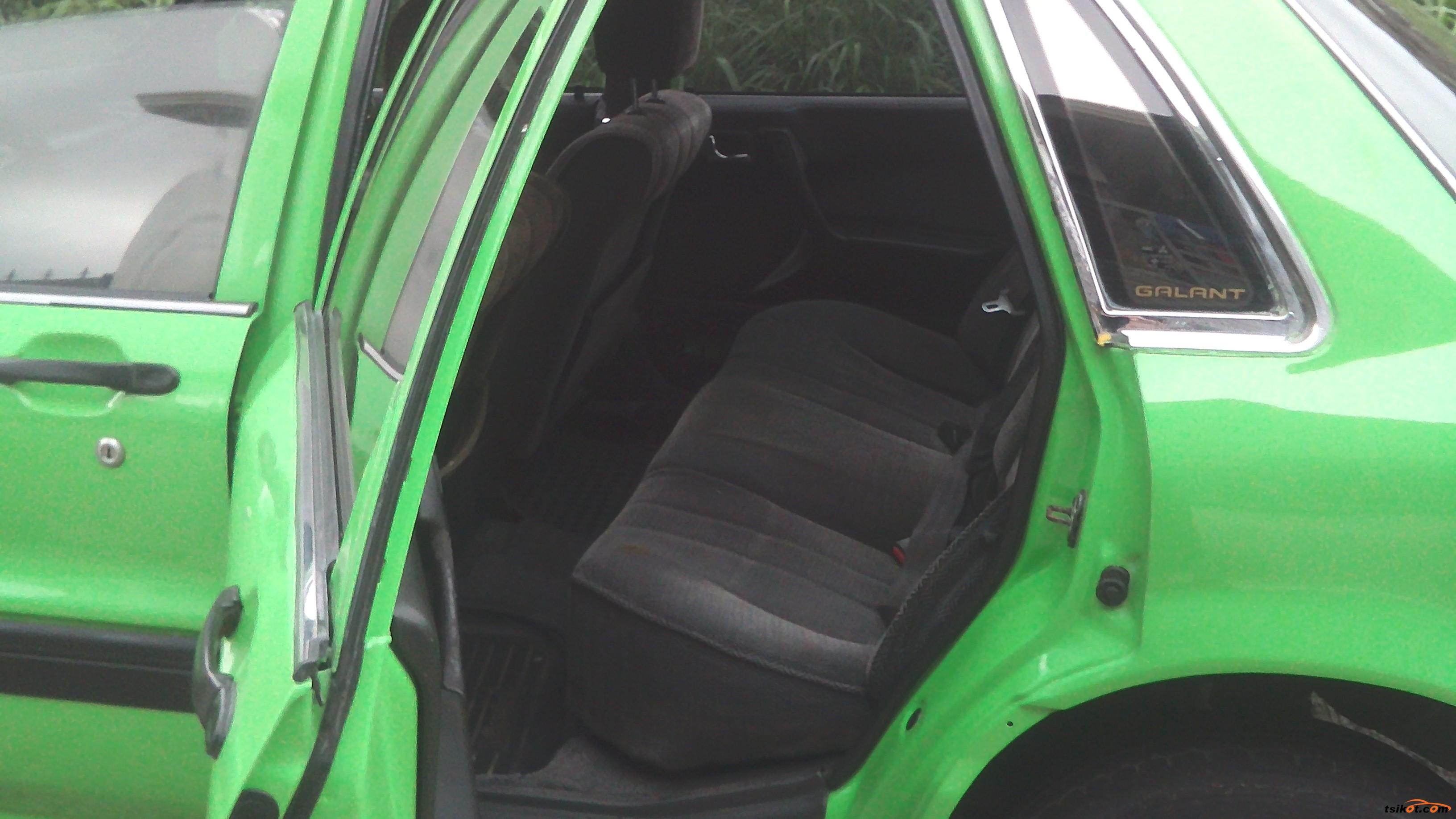 Mitsubishi Galant 1989 - 4