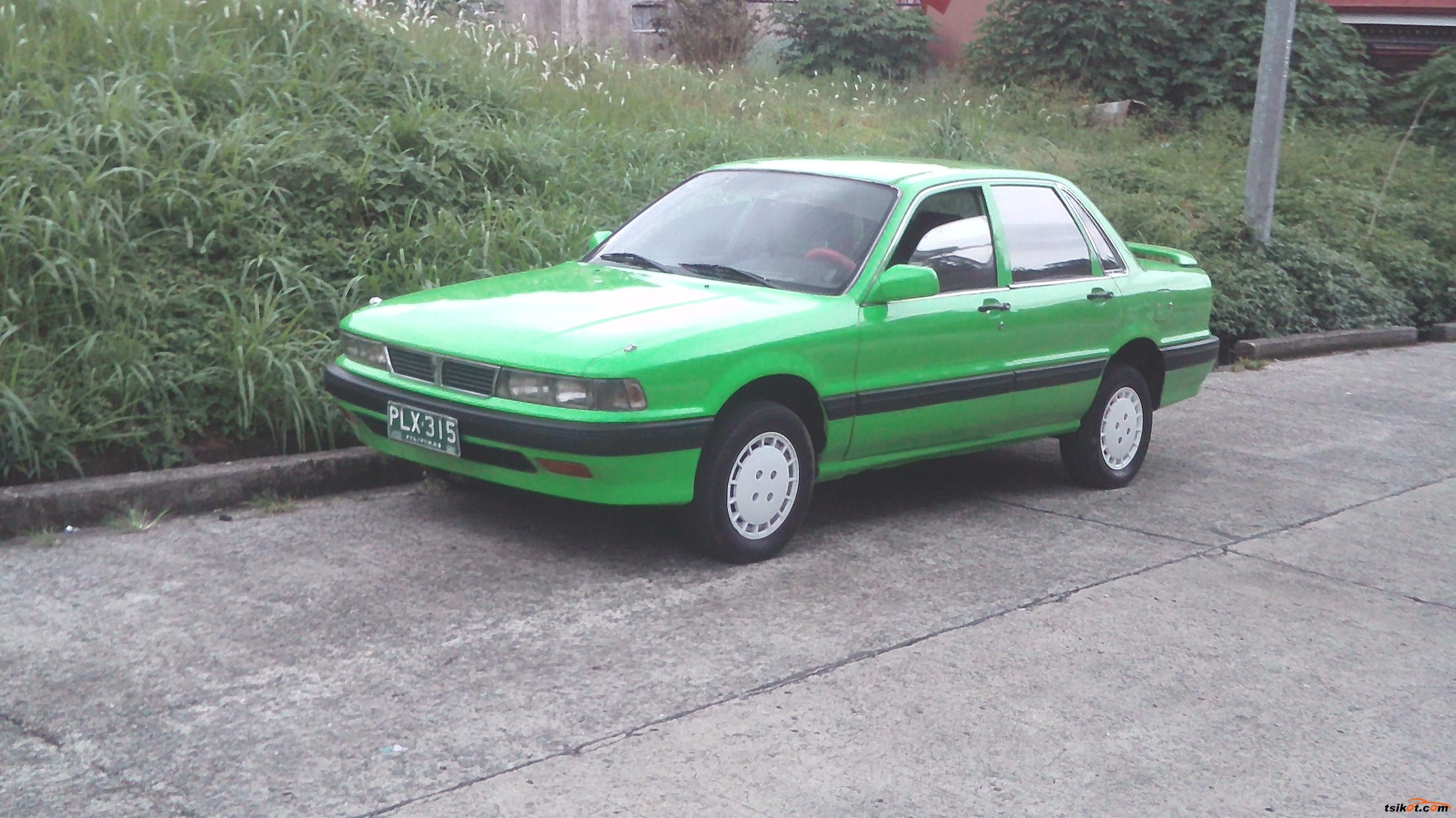 Mitsubishi Galant 1989 - 8