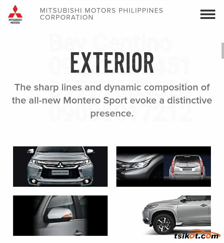 Mitsubishi Montero 2017 - 2