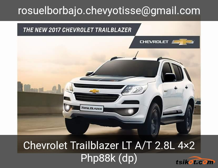Chevrolet Trailblazer 2017 - 2