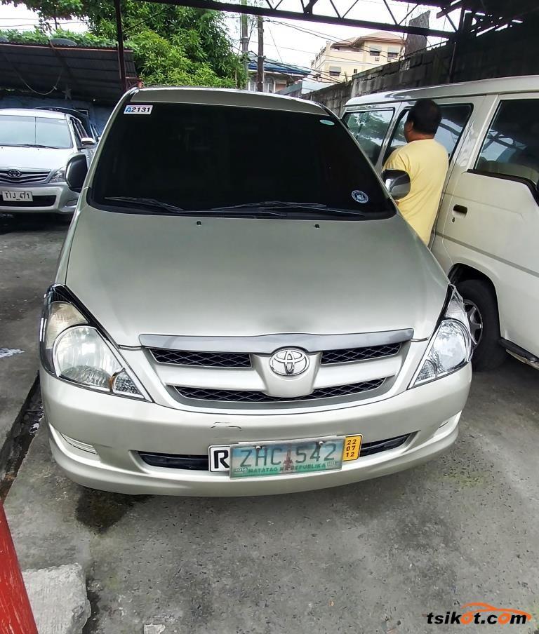 Toyota Innova 2007 Car For Sale Metro Manila Philippines
