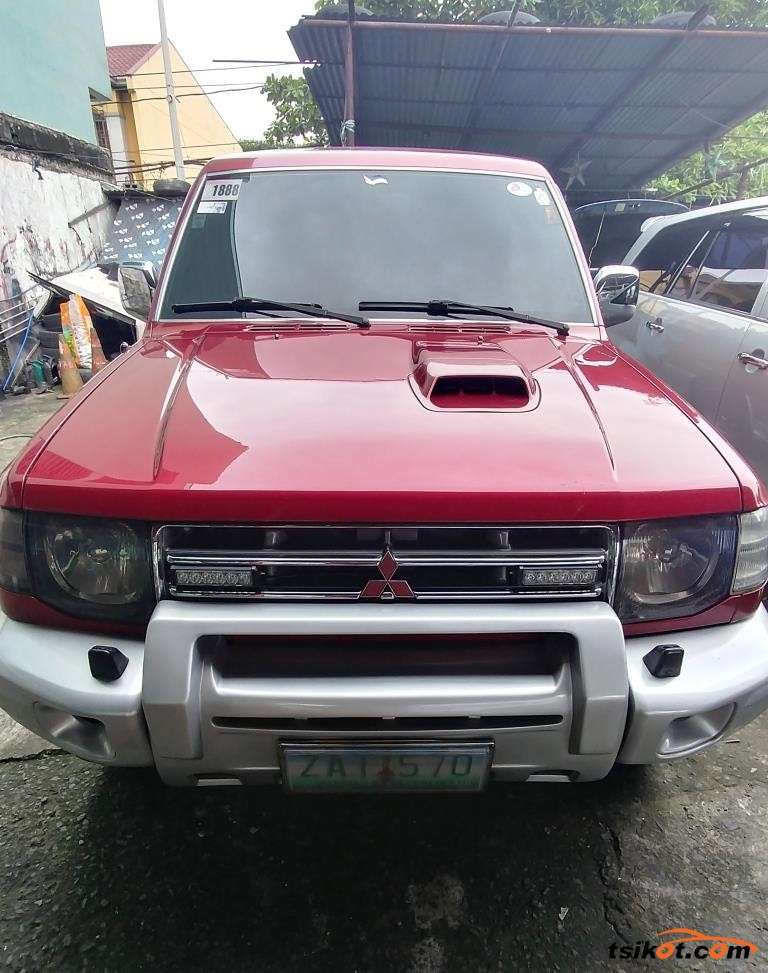 mitsubishi pajero 2005 car for sale metro manila. Black Bedroom Furniture Sets. Home Design Ideas
